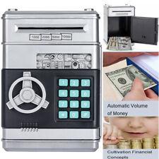 Electric Kids Moneybox Digital Cash Coin Money Bank Box Piggy ATM Saving Holder