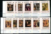 BRITISH ST. VINCENT-CHRISTMAS-PAINTING, Mi # 2115/2126, SPECIMEN, Complete Set
