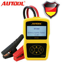 12V KFZ Batterietester Batterieladegeräte Diagnosegerät Testgerät PKW OBD KFZ