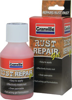 Granville Rust Repair Gel Remover Treatment Anti Rust Liquid Over Paintable 150g