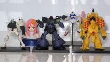 BANDAI japan anime GUNDAM 1/400 scale figure lot of 5 pcs mixed characters f