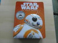Star Wars: The Force Awakens Tin by Lucasfilm Ltd, Egmont Publishing UK VGC