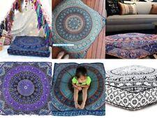 Indische Mandala Square Floor Kissen Kissenbezug Hippie böhmischen Hundebett