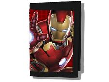 Marvel Avengers IRON MAN, AGE OF ULTRON Kids Coin Pocket Lenticular Money Wallet