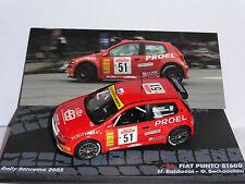 FIAT PUNTO S1600 #51 RALLYE SAN REMO 2003 BALDACCI BERNACCHINI 1/43 IXO ALTAYA
