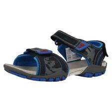 Sandales larges en cuir pour garçon de 2 à 16 ans
