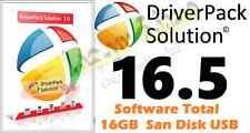 Windows Driver Pack solution 16.5 16GB for XP Vista Windows OS