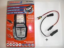 Ducati Batterie Ladegerät OptiMATE 4 Dual + Adapter SBK 899, 1199, 1199 S, 959