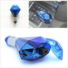 Blue Portable Car Air Purifier Fresher Glass Break Safety Hammer USB Charger Kit