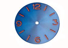 38.9mm sandwich Blue Dial Sterile fit ETA 6497 6498 ST3600 movement 058