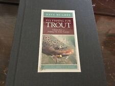 Lefty Kreh Little Libary Fly Fishing for Trout Volume 5 . by Dave Hughes .