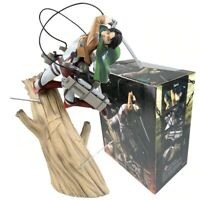 Anime Attack On Titan Levi PVC Figure Statue Model Toy Free Shipping Package New
