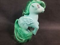 Vintage 1983 My Little Pony MEDLEY Green Pegasus G1 MLP Concave Foot See Pics