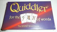 NEW SEALED - Quiddler The Short Word Card Game For The Fun of Words Family SET