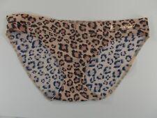 1 Victoria Secret Bikini Panty Size XSMALL Blue Animal Print DR8 New