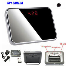 Spy Alarm Clock Mini Video Recorder Camera Hidden Nanny Cam DVR Motion Detection