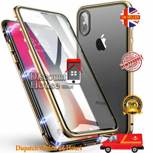 360 Full Body Front + Back Glass Magnetic Case Cover for Huawei models