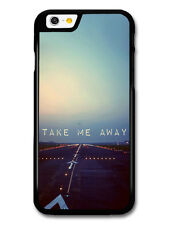Take Me Away Travel Aeroplane Life Love Inspirational Quote case for iPhone 6/6S
