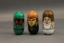 Star Wars Mighty Beanz, Princess Leia, Boba Fett, & Anakin Skywalker,Rare