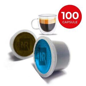 100 Capsule Cialde Caffe Compatibili UNO SYSTEM gusto PURO ARABICA DECAFFEINATO