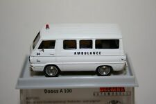 "Brekina 34309 -  1/87 Dodge A 100 Bus ""Ambulance""  Td - Neu"