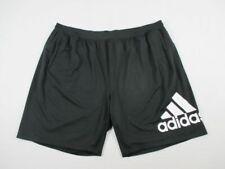 NEW adidas - Men's Black Poly Shorts (3XL)