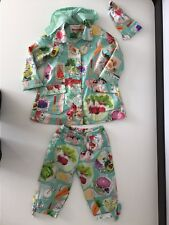 Oilily 3 Piece Outfit Set Jacket, Hair Band , Bottoms Age 4 Years Girls Vgc