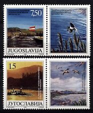 3729 YUGOSLAVIA 1991 DANUBE CONFERENCE with center tab **MNH