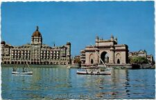 1931 Bombai - The gateway of India, Bombai, barche - FP COL ANIM