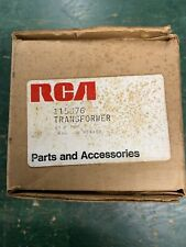Rca Flyback Transformer 115876 For the Ctc28 Ctc30 Color Tv Chassis