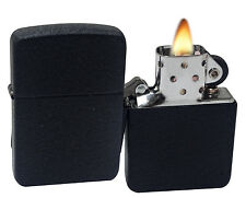 Zippo 28582 1941 Replica Black Crackle Windproof Pocket Lighter NEW