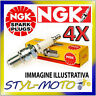 KIT 4 CANDELE NGK SPARK PLUG CR8E SUZUKI GSX 650 F 650 2008