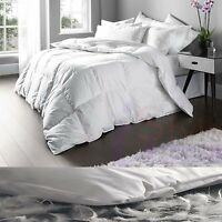 QUALITY DUCK FEATHER AND DOWN 4.5 TOG HOTEL DUVET QUILT SINGLE DOUBLE SUPER KING