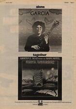 Grateful Dead Mars Hotel + Garcia UK LP advert 1974