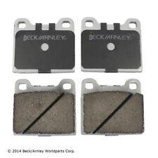 Beck/Arnley 085-0407 Rear Premium Brake Pads