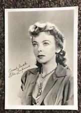 Ida Lupine vintage signed Photograph
