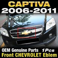 GM Genuine Parts Front Grill CHEVROLET CROSS Emblem For CHEVY 2006-2011 Captiva