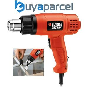 Black Decker KX1650 1750w Heat Gun with Hands Free Stand KX1650 DW340 Heatgun