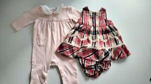 Ralph Lauren dress and romper Baby Girl 3 Months