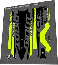GIANT TCR Advanced Pro 2016-2019 Frame Sticker / Decal Set