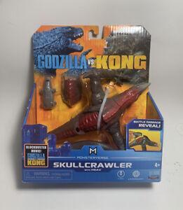 GODZILLA VS KING KONG SKULLCRAWLER W/HEAV MONSTERVERSE PLAYMATES MOVIE FIGURE