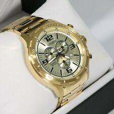 Citizen Gold Tone Men's Chronograph Gold Dial Watch AN7122-81P