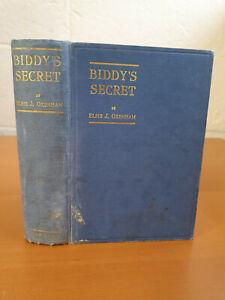 ELSIE J. OXENHAM Biddy's Secret - 1st ed 1932 - scarce!
