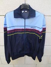 VINTAGE Veste ADIDAS Ventex made in France années 80 jacket giacca 174 M marine