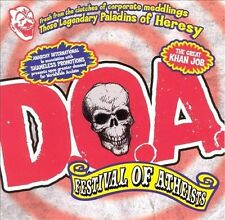 DOA - FESTIVAL OF ATHEISTS CD BRAND NEW SEALED
