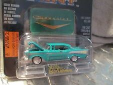 """1957 Chevy Belair collector Racing Champions motor trend 1:61 3.25""""long"""