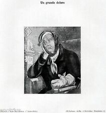 PAZIENTE CON MAL DI DENTI. Dentista.Odontoiatria. Dentiste.Dentist.Zahnarzt.1929
