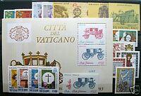 Sammlung Vatikan Jahrgang 1984 und 1985 komplett postfrisch ** Vaticano MNH