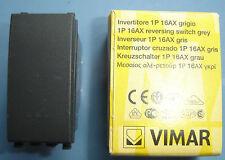 VIMAR 20013 Eikon grigio scuro antracite Invertitore 1P 16AX reversing switch
