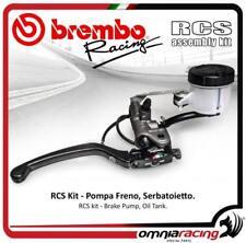 Brembo Kit Pompe frein radial RCS 17+réservoir fuido huile frein étrier supp